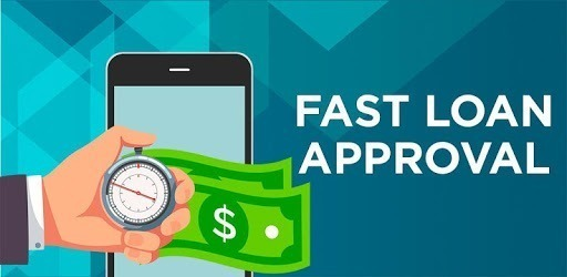 Fast loan approval with stopwatch and cash
