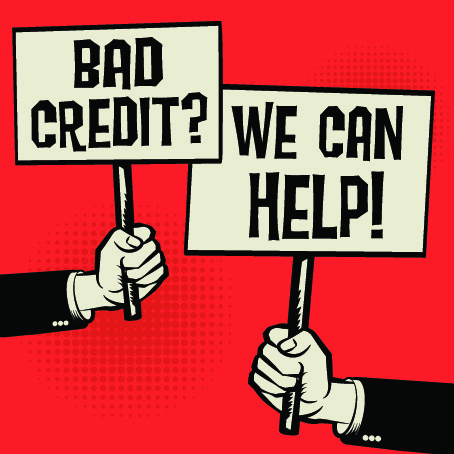 bad credit, we can help